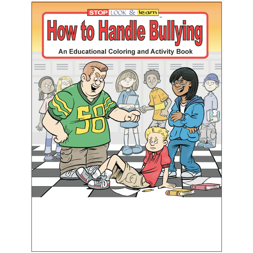 """How to Handle Bullying"" Coloring & Activity Books (Stock)"