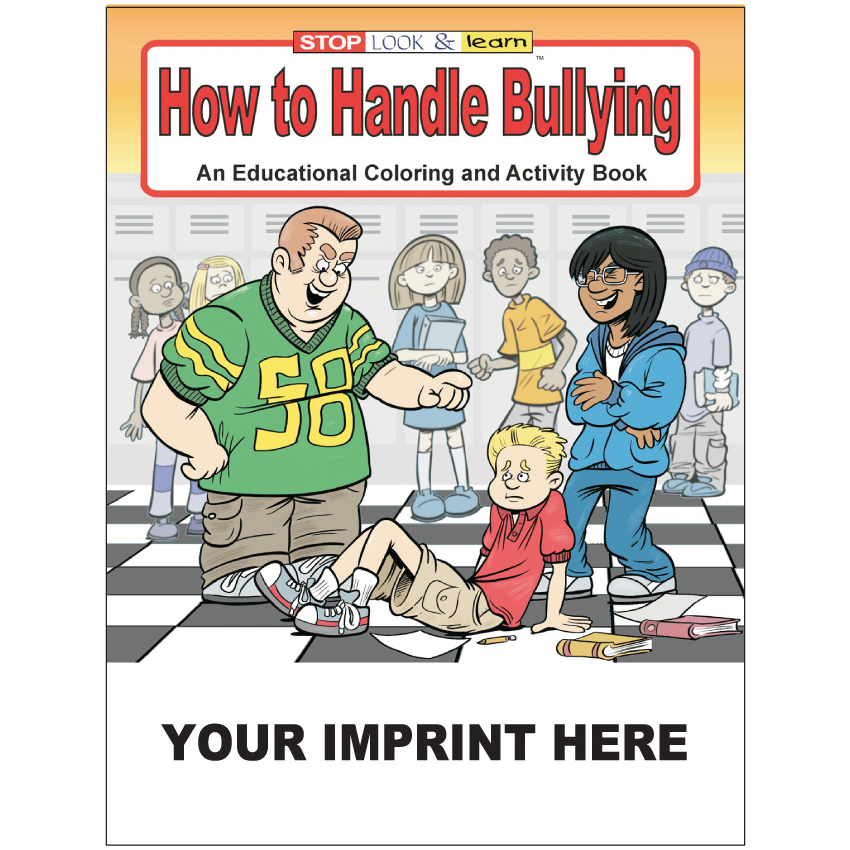 """How to Handle Bullying"" Coloring & Activity Books (Custom)"