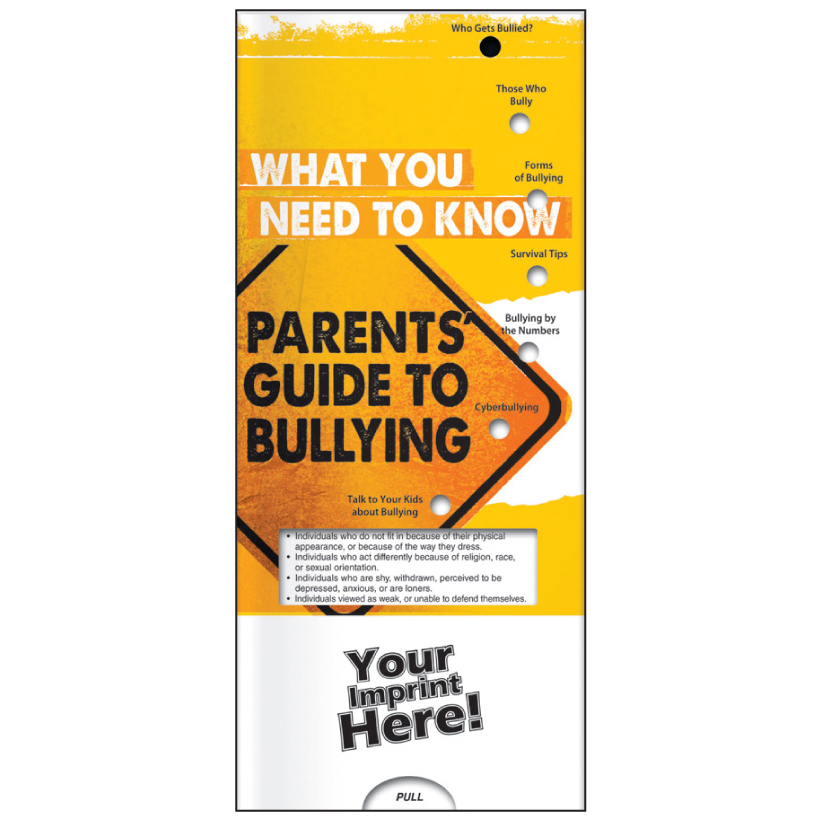"Pocket Slide Guide ""Parents Guide to Bullying"" (Custom)"