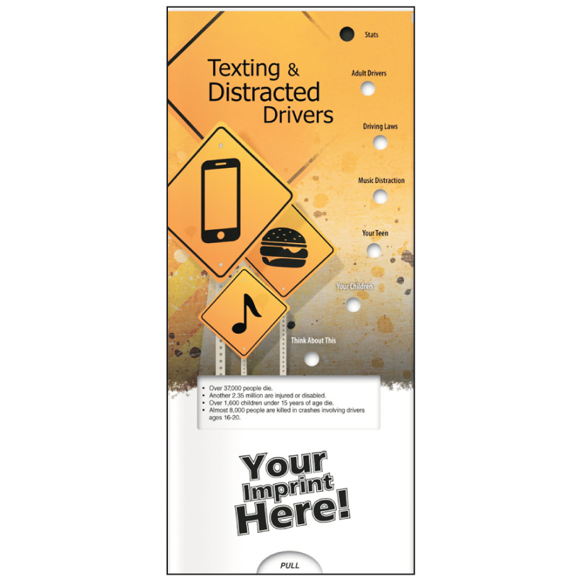 "Pocket Slide Guide ""Texting & Distracted Drivers"" (Custom)"