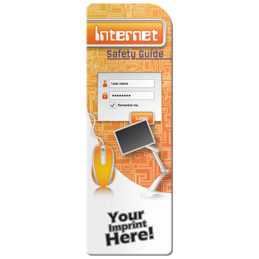 """Internet Safety Guide"" Bookmarks (Custom)"