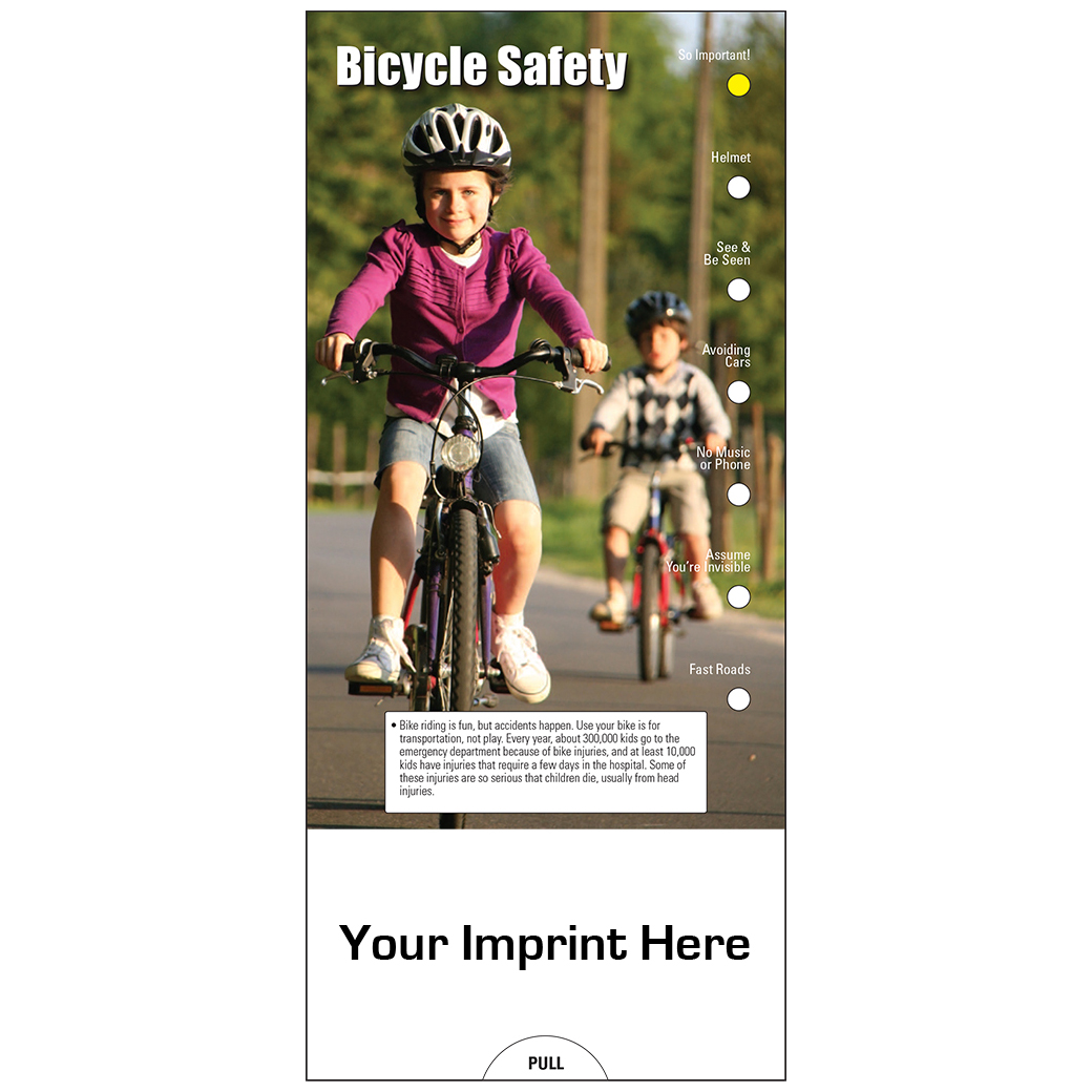 "Pocket Slide Guide ""Bicycle Safety"" (Custom)"