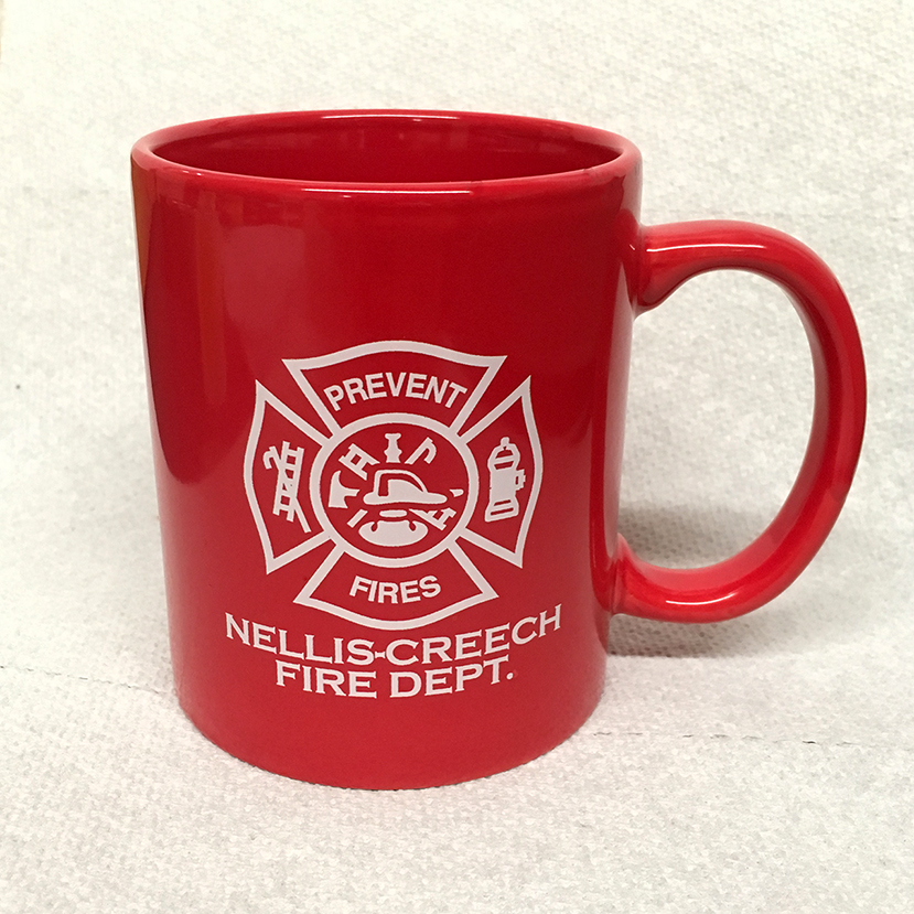 Ceramic Mugs 11 oz - Red (Custom)