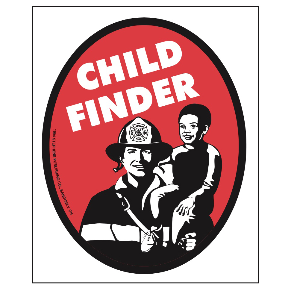 Child Finder Program Stickers (Stock)