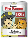 """Escaping Fire Danger"" Coloring & Activity Books (Custom)"