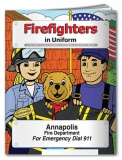 """Firefighters in Uniform"" Coloring & Activity Books (Custom)"