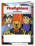 """Firefighters in Uniform"" Coloring & Activity Books (Stock)"