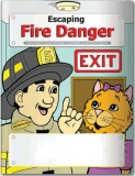 """Escaping Fire Danger"" Coloring & Activity Books (Stock)"