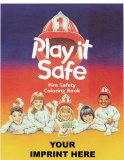 """Play it Safe"" Coloring Books (Custom)"
