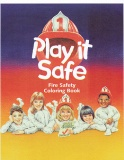 """Play it Safe"" Coloring Books (Stock)"