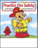 """Practice Fire Safety"" Coloring Books - Spanish (Stock)"
