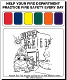 Watercolor Paint Sheet (Stock)