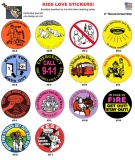2'' Safety Stickers (Stock)