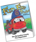 """Fun Fire Trucks"" Coloring & Activity Books (Custom)"