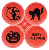 Reflective Safety Dots - Halloween (Stock)