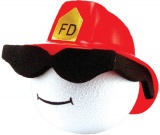 Antenna Balls - Cool Firefighter (Stock)