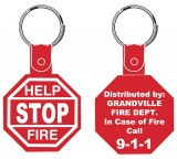 Stop Sign Keytags (Custom)