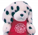 "9"" Plush Stuffed Animal Dalmatian Dogs (Stock)"