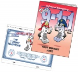 """Dial 9-1-1"" Coloring & Activity Books (Custom)"