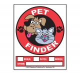 Pet Finder Window Clings (Stock)