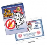 """Fire Safety"" Coloring & Activity Books (Stock)"