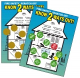 "Scratch-Offs ""Know 2 Ways Out"" (Custom)"