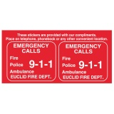 Emergency Phone Labels (Custom)