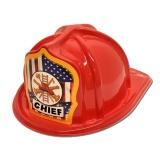 DELUXE Fire Hats - Fire Chief, Patriotic (Stock)