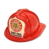DELUXE Fire Hats - Junior Fire Chief (Custom)