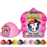 DELUXE Fire Hats - Pink Dalmation Design (Custom)