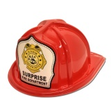 DELUXE Fire Hats - Junior Firefighter (Custom)