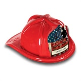 DELUXE Plastic Fire Hats - Hero In Training Design (Custom)