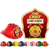 DELUXE Fire Hats - Fire Chief Design (Custom)