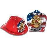 DELUXE Fire Hats - Patriotic Design (Stock)