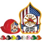 CLASSIC Fire Hats - Patriotic Design (Custom)