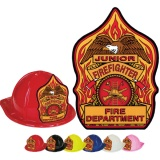 CLASSIC Fire Hats - Flame Design (Stock)