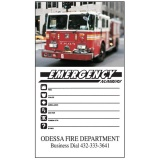 Emergency Numbers Flexible Info Magnets (Custom)