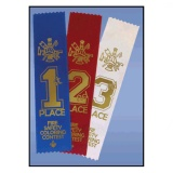 "Award Ribbons 2"" x 8"" (Stock)"