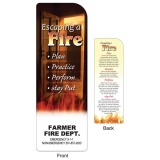"""Escaping a Fire"" Bookmarks (Custom)"