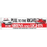 """Pull to the Right"" Bumper Stickers (Custom)"