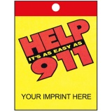 """Help It's As Easy As 911"" Litter Bags (Custom)"