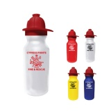 Bike Water Bottle 20 oz - Fireman Helmet (Custom)
