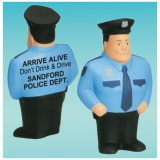 Policeman Stress Relievers (Custom)