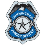 Stick-On Junior Officer Badges (Custom)