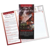 Fire Escape Plans Brochures (Stock)