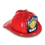 DELUXE Fire Hats - Jr. Firefighter Gold Maltese Design (Custom)