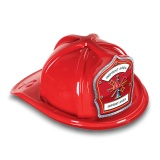 DELUXE Plastic Fire Hats - Fire Hat Maltese (Custom)