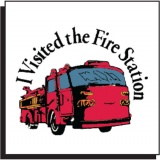 Fire Truck Tattoo (Stock)