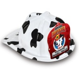 DELUXE Fun Fire Hats - Dalmatian Jr. Firefighter (Custom)