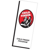 Child Finder Sticker Placement Brochures (Stock)